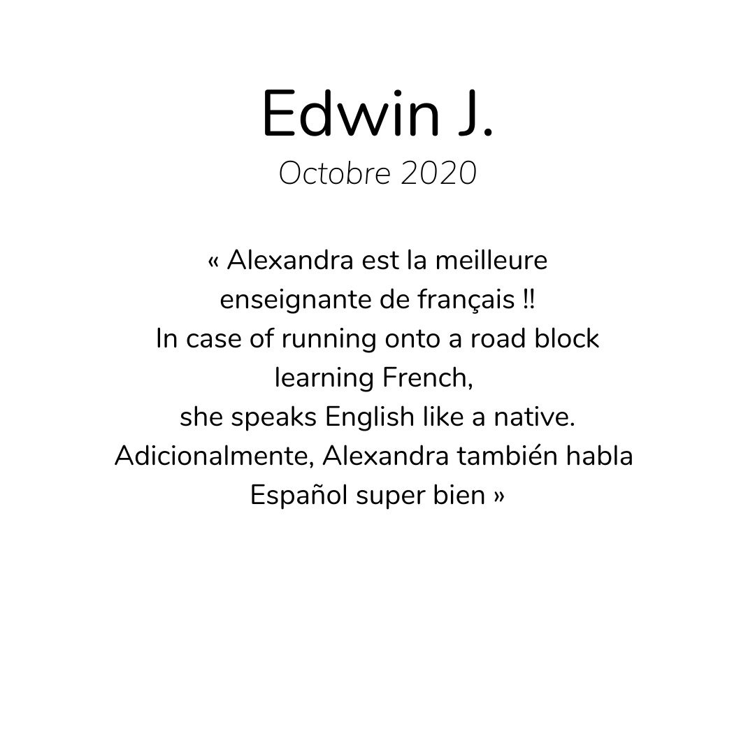 Avis (5)